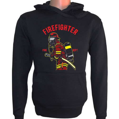 Kapuzenpulli-FIREFIGHTER-FIRE DEPT.